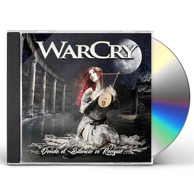WarCry DONDE EL SILENCIO SE ROMPIO CD
