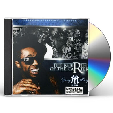 Lil Wayne MIXTAPE REBIRTH OF THE CARTER CD