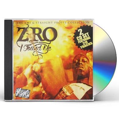 Z-Ro I FOUND ME CD