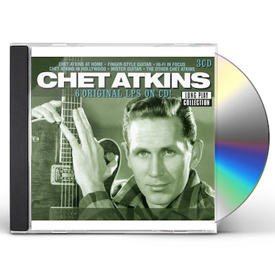 Chet Atkins LONG PLAY COLLECTION CD