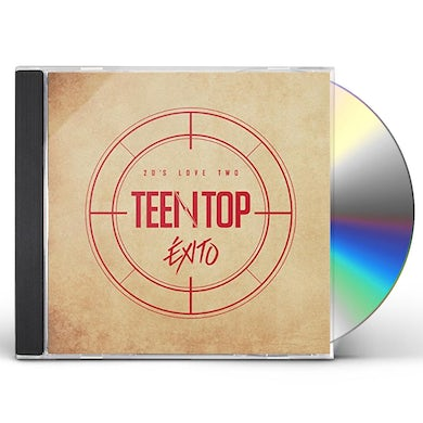 TEEN TOP 20'S LOVE TWO EXITO CD