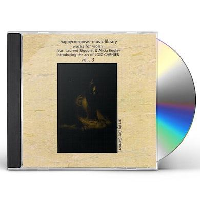 Var WORKS FOR VIOLIN: ART OF LOIC GARNIER 3 CD