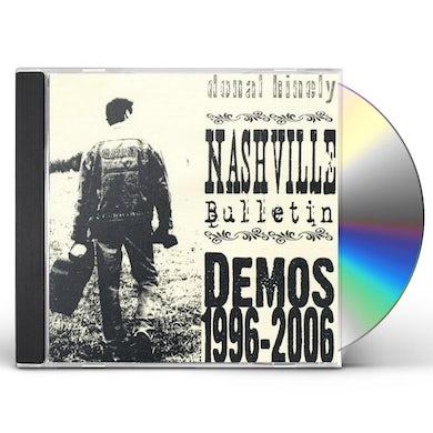 Donal Hinely NASHVILLE BULLETIN CD