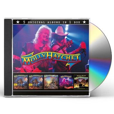 Molly Hatchet 5 IN 1 BOXSET CD