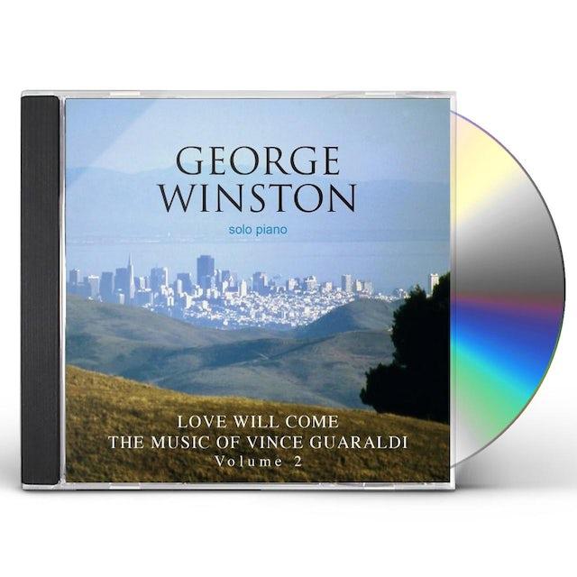 George Winston LOVE WILL COME: THE MUSIC OF VINCE GUARALDI 2 CD