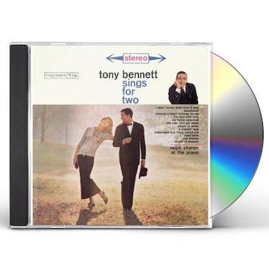 Tony Bennett TONY SINGS FOR TWO CD