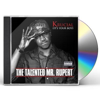 Krucial THE TALENTED MR. RUPERT CD