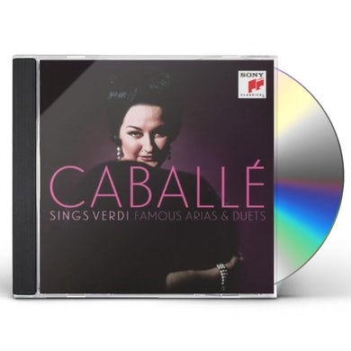 MONTSERRAT CABALLE SINGS VERDI CD