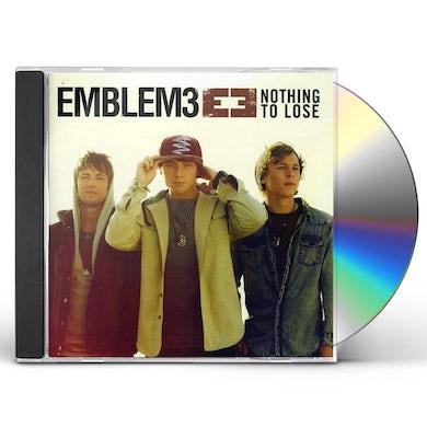 Emblem3 NOTHING TO LOSE CD