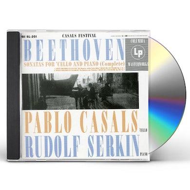 Pablo Casals PLAYS BEETHOVEN CELLO SONATAS CD