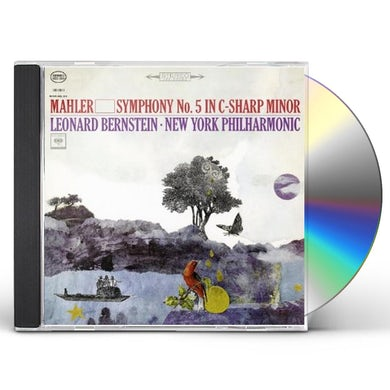 Leonard Bernstein MAHLER: SYMPHONY NO. 5 IN C-SHARP MINOR CD
