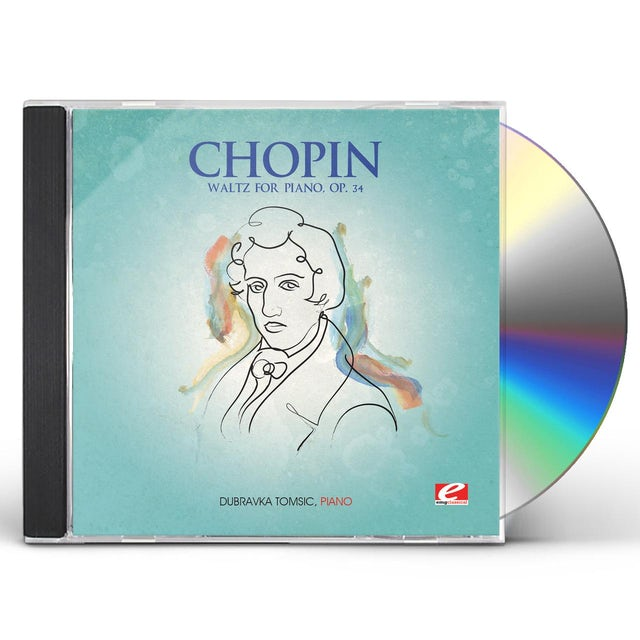 Chopin WALTZ FOR PIANO OP 34 CD