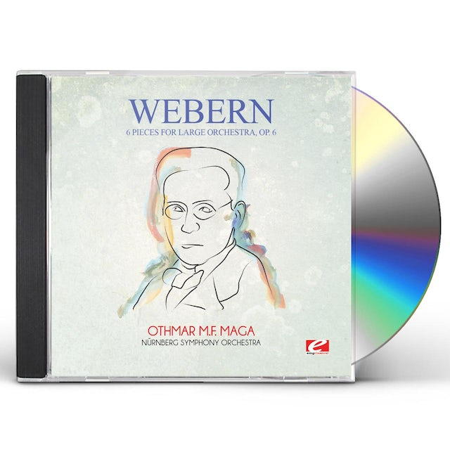 Webern 6 PIECES FOR LARGE ORCHESTRA OP. 6 CD