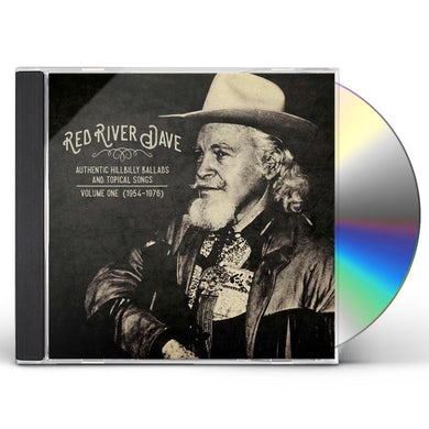 Red River Dave AUTHENTIC HILBILLY BALLADS AND TOPICAL SONGS 1 CD