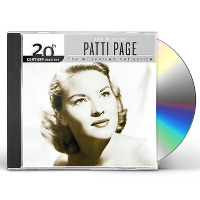 Patti Page 20TH CENTURY MASTERS: MILLENNIUM COLLECTION CD