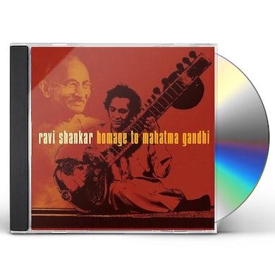 Ravi Shankar HOMAGE TO MAHATMA GANDHI CD