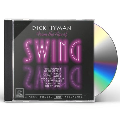 Dick Hyman FROM THE AGE OF SWING CD