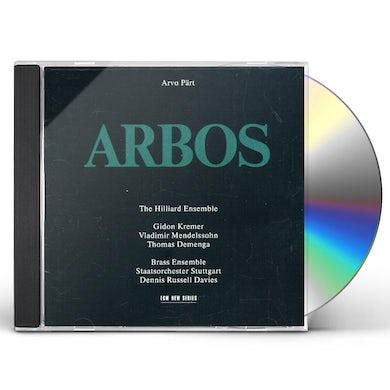 Arvo Part ARBOS CD