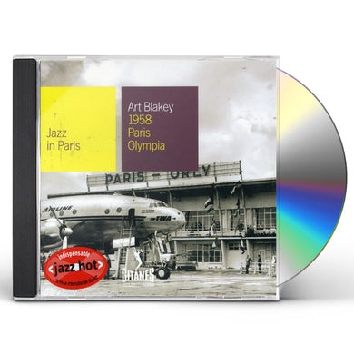 Art Blakey 1958 PARIS OLYMPIA CONCERT: JAZZ IN PARIS CD
