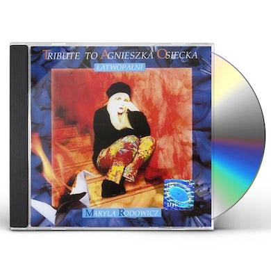 Maryla Rodowicz TRIBUTE TO AGNIESZKA OSIECKA CD