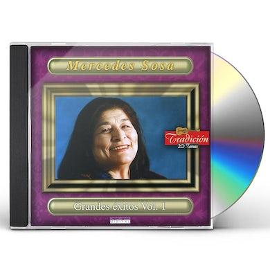 Mercedes Sosa GRANDES EXITOS 1 CD
