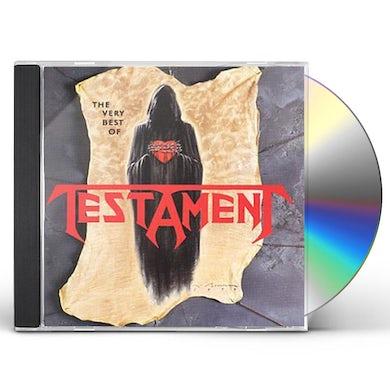 Testament VERY BEST OF CD