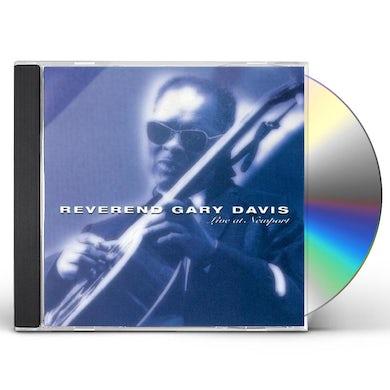 Reverend Gary Davis LIVE AT NEWPORT CD