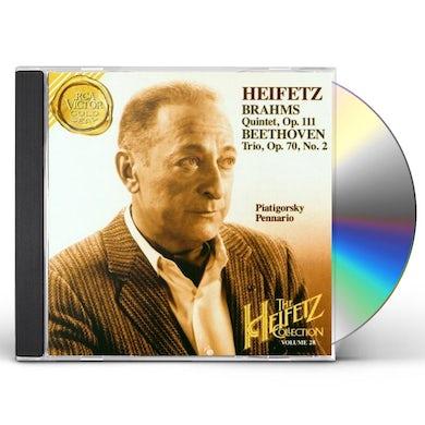 Jascha Heifetz COLLECTION VOL 28 CD