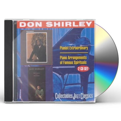 Don Shirley PIANIST EXTRAORDINARY / PIANO ARRANGEMENTS CD