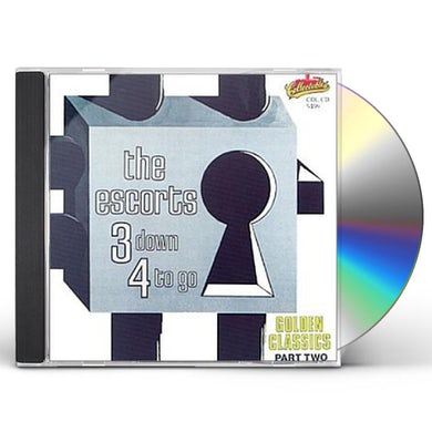 Escorts 3 DOWN 4 TO GO / GOLDEN CLASSICS 2 CD