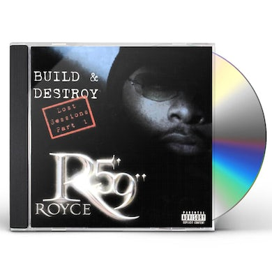 "Royce Da 5'9"" BUILD & DESTROY: LOST SESSIONS CD"