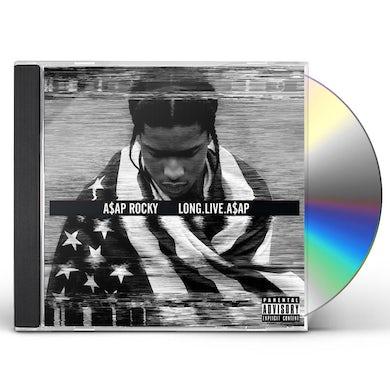 A$AP Rocky LONG LIVE A$AP (GOLD SERIES) CD