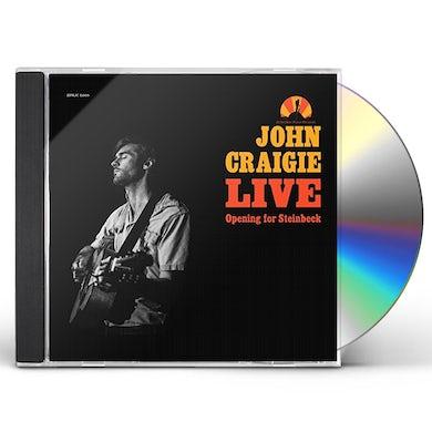 John Craigie Opening For Steinbeck (Live Cd) CD