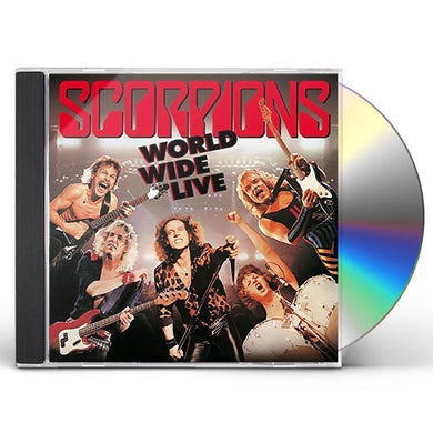 Scorpions WORLD WIDE LIVE: 50TH BAND ANNIVERSARY CD