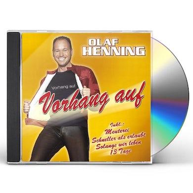 Olaf Henning VORHANG AUF CD