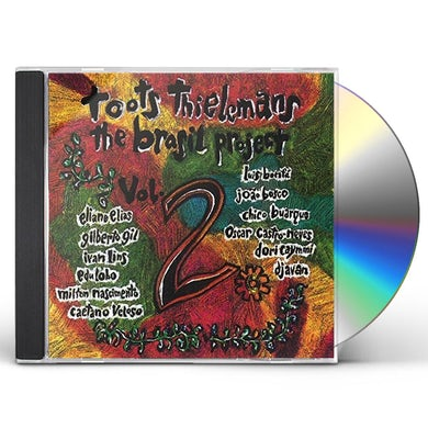 Toots Thielemans BRASIL PROJECT VOL 2 CD