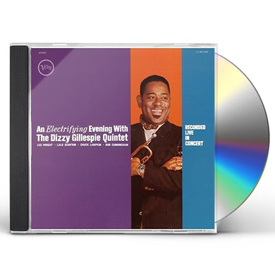 Dizzy Gillespie ELECTRIFYING EVENING CD