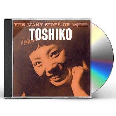 Toshiko Akiyoshi MANY SIDES OF TOSHIKO CD