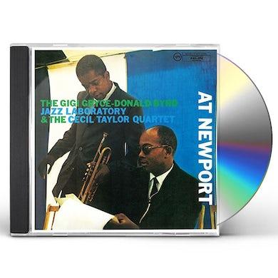 Cecil Taylor JAZZ LABORATORY AT NEWPORT CD