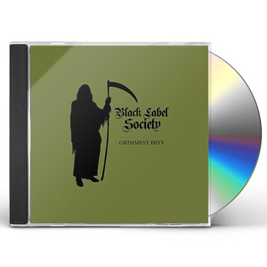 Black Label Society GRIMMEST HITS (JAPANESE VERSION) CD