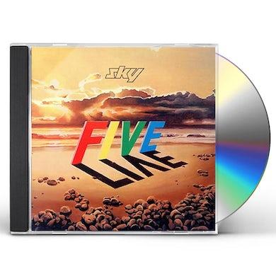 Sky FIVE LIVE: DELUXE CD