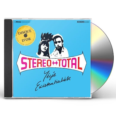 Stereo Total YEYE EXISTENTIALISTE CD