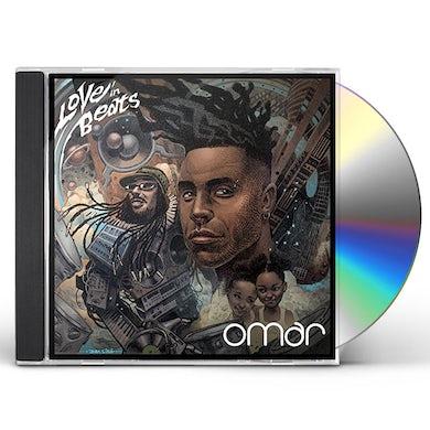 Omar LOVE IN BEATS CD