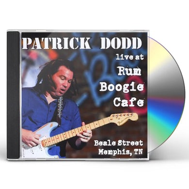 Patrick Dodd LIVE AT RUM BOOGIE CAFE CD