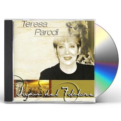 Teresa Parodi JOYAS DEL FOLKLORE CD