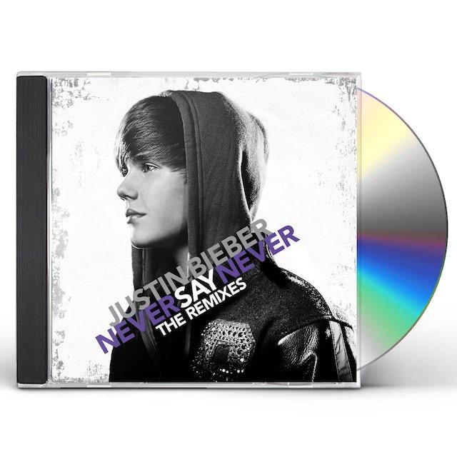 Justin Bieber NEVER SAY NEVER: THE REMIXES CD