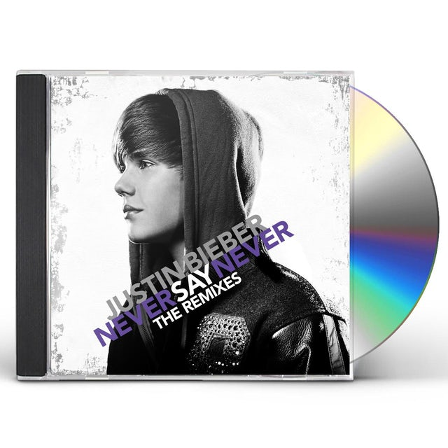 Justin Bieber NEVER SAY NEVER: THE REMIXES CD