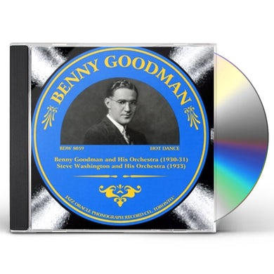 Benny Goodman 1930-1933 CD