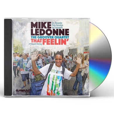 Mike Ledonne THAT FEELIN' CD