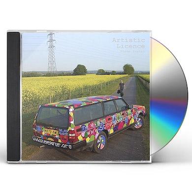 Steve Porter ARTISTIC LICENCE CD